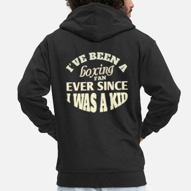 Punch I've been a boxing fan T-shirt usw - Männer Premium Kapuzenjacke