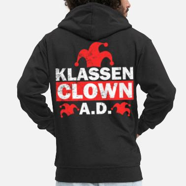 Class Clown Out of School School Student Gift - Men's Premium Hooded Jacket