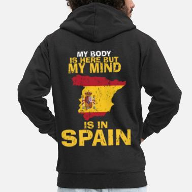 Home Country Spain home country gift - Men's Premium Zip Hoodie