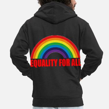Come Gay Pride Gift - Men's Premium Zip Hoodie