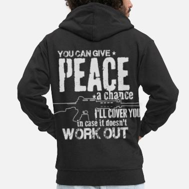 Weapons weapons - Men's Premium Zip Hoodie