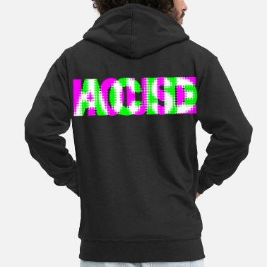 Acid House acid house - Men's Premium Hooded Jacket