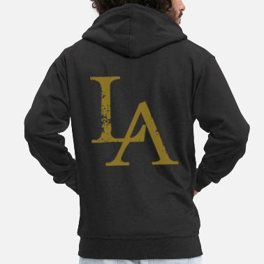 Los Angeles LA - Los Angeles - Dance Shirt - Men's Premium Zip Hoodie