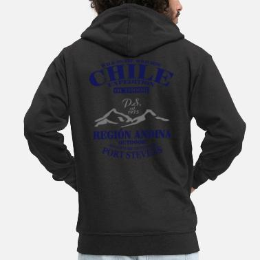 Anden Chile Expedition - Andes - Anden - Männer Premium Kapuzenjacke