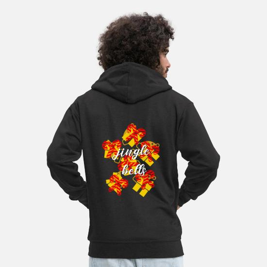 Christmas Hoodies & Sweatshirts - Christmas - Men's Premium Zip Hoodie black