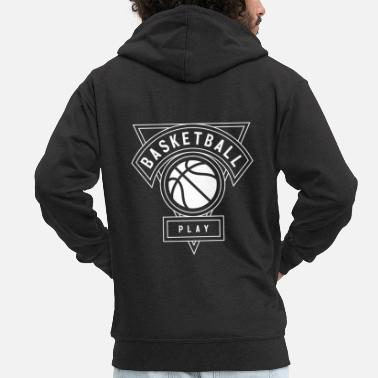 Slam Dunk Basketball T-Shirt A premium gift idea. - Men's Premium Hooded Jacket