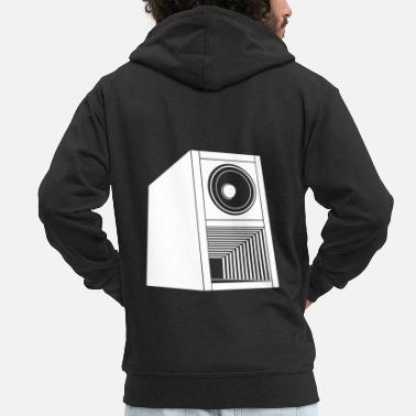 Speaker Speaker - Men's Premium Hooded Jacket