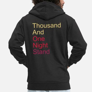 Mariage thousand and one night stand 3colors - Veste à capuche premium Homme