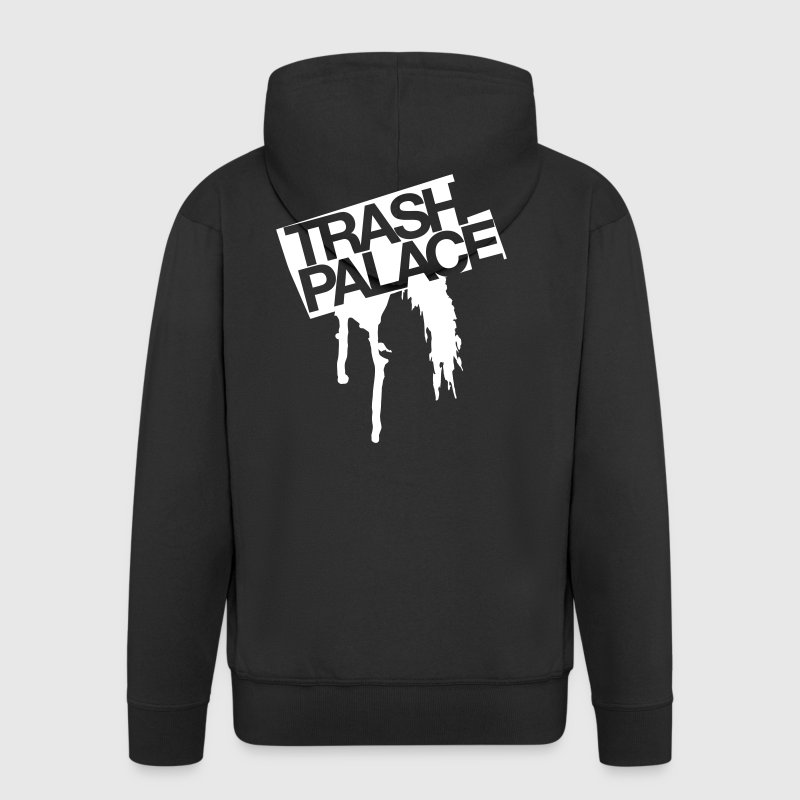 trash palace - Men's Premium Hooded Jacket