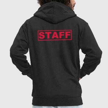 Staff - Men's Premium Hooded Jacket