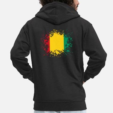Country home country roots wurzeln love Guinea png - Männer Premium Kapuzenjacke