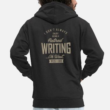 5bdf180179ae L  39 écriture - Veste à capuche premium Homme