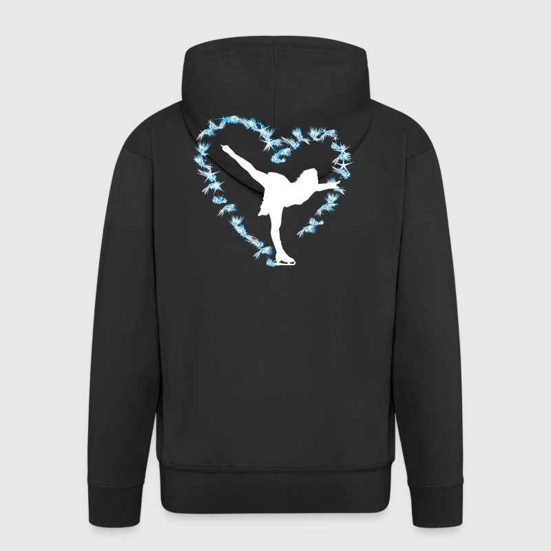 Figure skating Ice skating Ice dance figures - Men's Premium Hooded Jacket