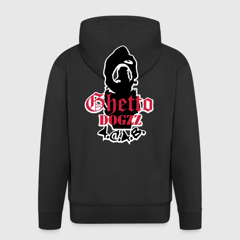 Ghetto Dogzz - A.C.A.B. - Men's Premium Hooded Jacket