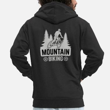 Mountain Biking Mountain biking - Men's Premium Hooded Jacket