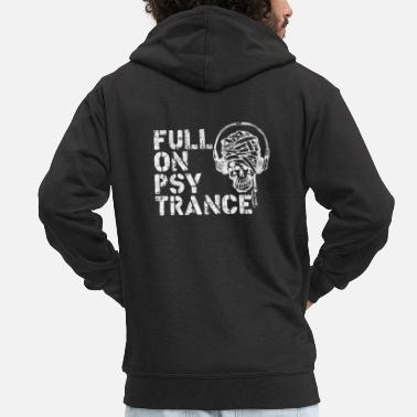 Psytrance psytrance - Men's Premium Hooded Jacket