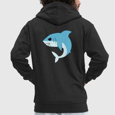 Requin requin requin requin - Veste à capuche Premium Homme
