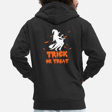 Trick Or Treat Trick Or Treat - Männer Premium Kapuzenjacke