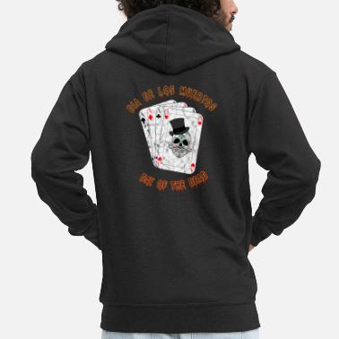 All Saints Day dia de los muertos / All Saints Day / Dead Sunday - Men's Premium Zip Hoodie