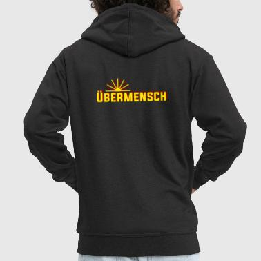 Nietzsche Friedrich Nietzsche PHILOSOPHY - Men's Premium Hooded Jacket