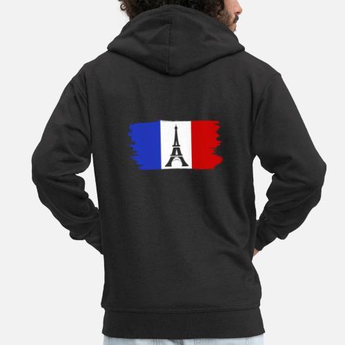 Bandera Premium Regalo Francesa Chaqueta Paris Capucha Francia Con Z6qzrxZH