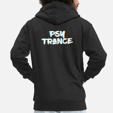 Psy-trance Psy Trance design Gift for Acid Techno Electronic - Men's Premium Zip Hoodie