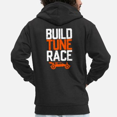 Race RC car racing - Men's Premium Zip Hoodie