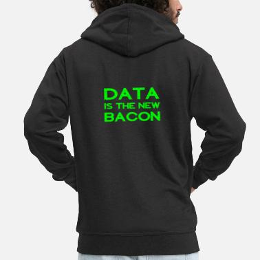 Veteran Data är den nya Bacon Funny Analyst Scientist Gift - Premium-Luvjacka herr