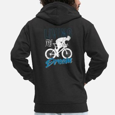 Cycle Cycling cycling - Men's Premium Zip Hoodie