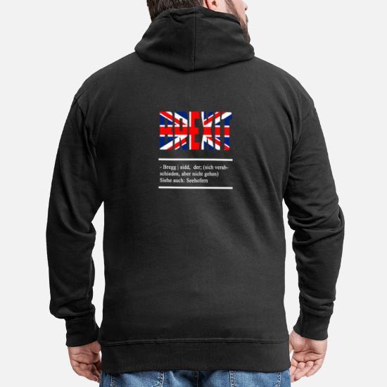 Brexit Übersetzung aus dem Duden Männer Premium