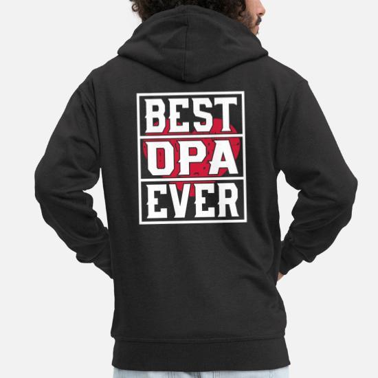 6655ea42b0cf2 Grandsparents Sweat-shirts - Meilleur grand-père jamais - Veste à capuche  premium Homme