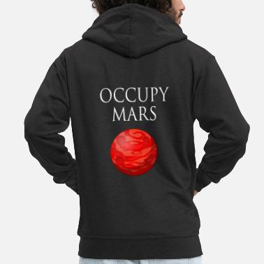 Occupy Occupy maart Space - Mannenjack Premium met capuchon