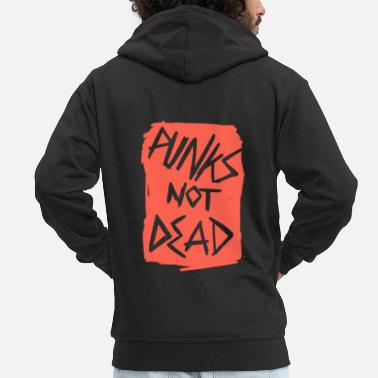 Punks Not Dead Punks not dead - Men's Premium Zip Hoodie