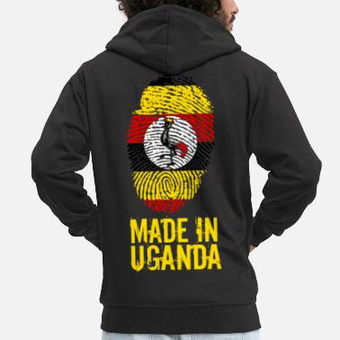 Uganda Made In Uganda - Men's Premium Hooded Jacket