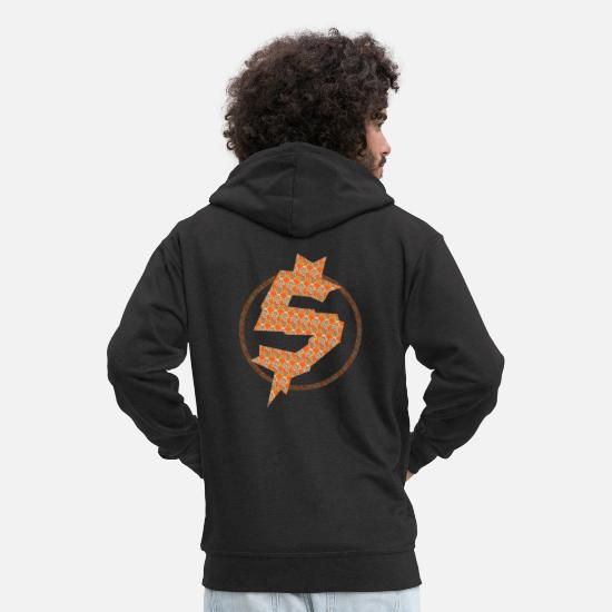 Rap Hoodies & Sweatshirts - Cash Money - Men's Premium Zip Hoodie black