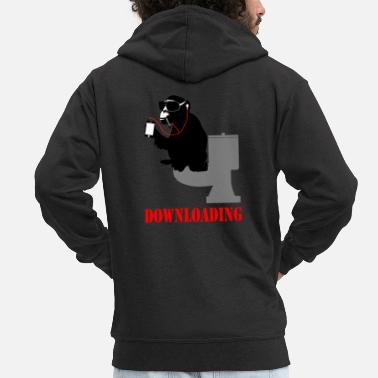 Download downloading - Men's Premium Zip Hoodie