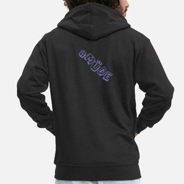 Tired Tired - Men's Premium Zip Hoodie