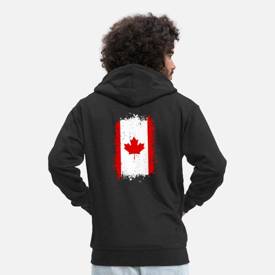 Canada Hoodies & Sweatshirts - Canada - Men's Premium Zip Hoodie black