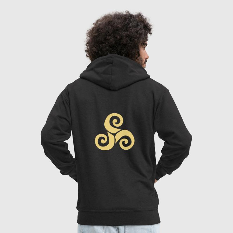triskelion - Men's Premium Hooded Jacket