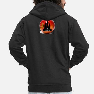 Big Apple BIG APPLE - Men's Premium Zip Hoodie