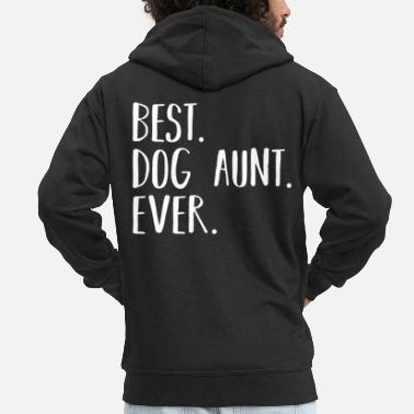 Love Dogs Dog Love Dog Lover Dog Aunt - Men's Premium Zip Hoodie