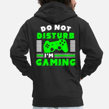 Gaming Gaming - Men's Premium Zip Hoodie
