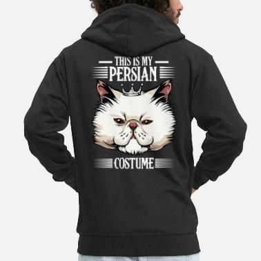 Perserkatze - This Is My Persian Costume - Lustig - Männer Premium Kapuzenjacke