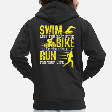 Triathlon Triathlon - Men's Premium Zip Hoodie