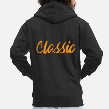 Writing Classic Writing Handwriting - Veste à capuche premium Homme