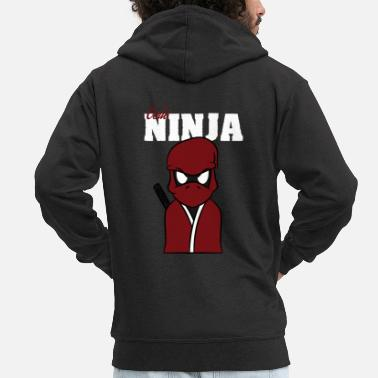 Code Code Ninja Computer Coding for computers codes - Men's Premium Zip Hoodie