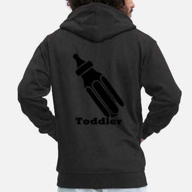 Toddlers toddler - Men's Premium Zip Hoodie