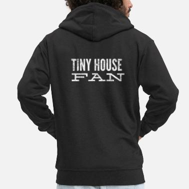 House Tiny House-fan - Mannen premium zip hoodie