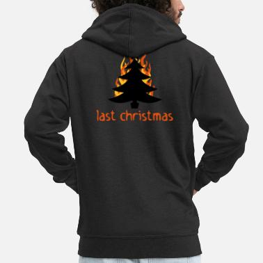 Provocation Last Christmas - Men's Premium Zip Hoodie