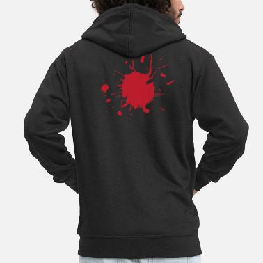 Gore Gore - Blood - Men's Premium Zip Hoodie